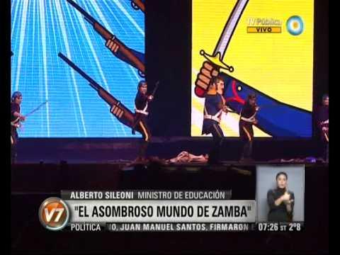 Visi n 7 el asombroso mundo de zamba en tecn polis for El asombroso espectaculo zamba