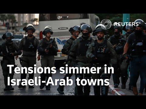 Tensions simmer in Israeli-Arab towns