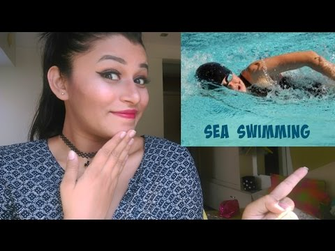 When i swam in the sea for 5km..