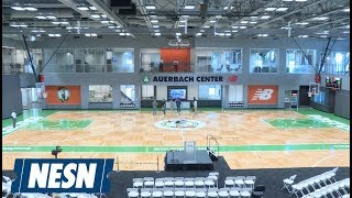 You won't believe what they have inside the new Celtics practice facility