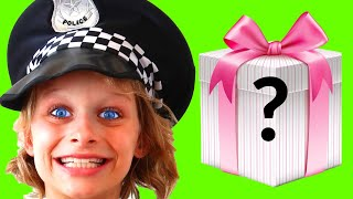 BIGGY the POLICEMAN Sharing and Learning Color Songs Pretend Play w/ The Norris Nuts