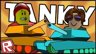 EIN SPIEL IN ROBLOX, DASS SIE ENTERTAINSIE!!! (Kleine Tanks!)