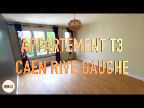 ACI   Appartement T3 Caen Rive Gauche