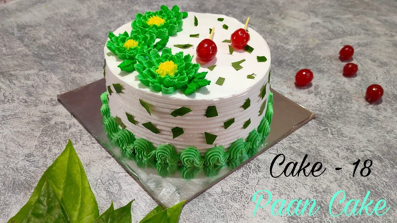 सोप्या पद्धतीने केक - 18 / पान केक