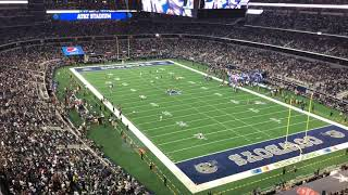 Eagles booed during introduction vs. Cowboys