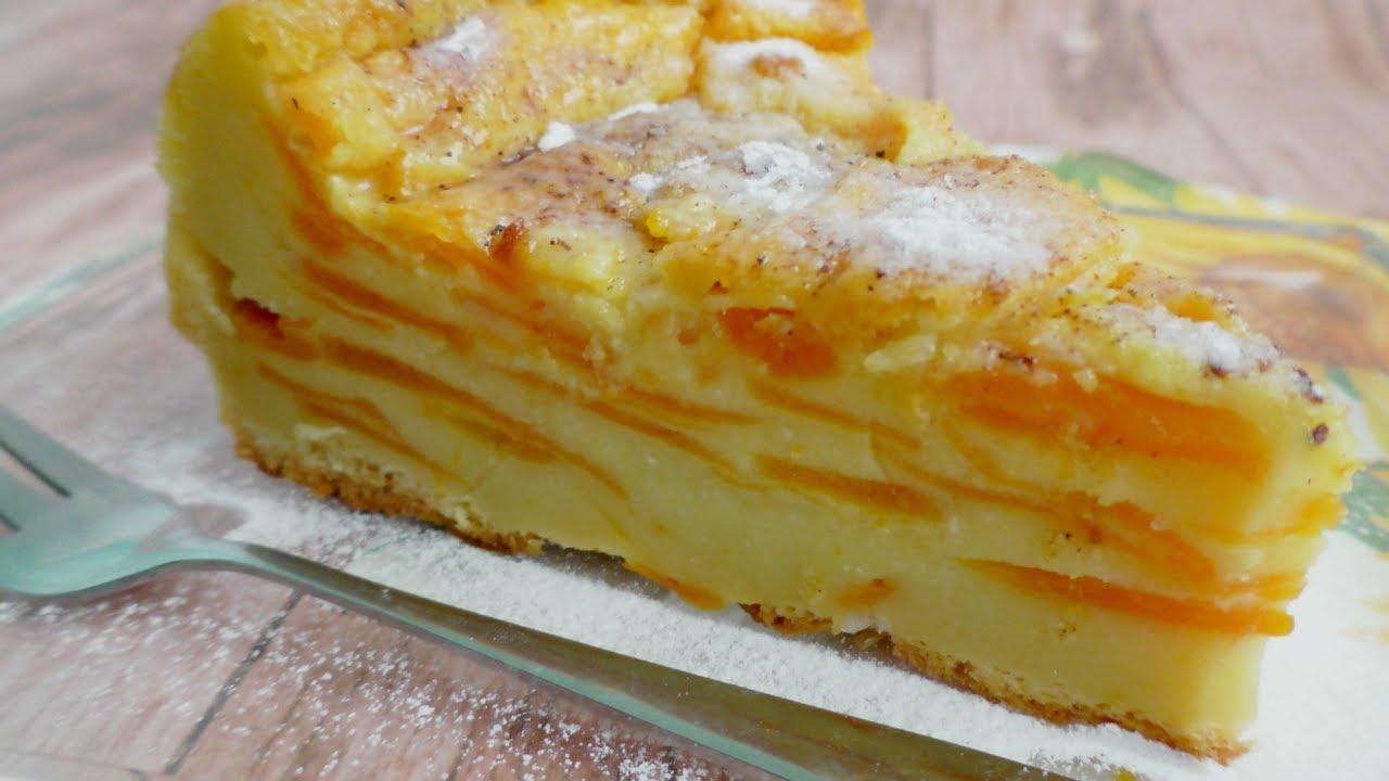 Гарбузовий пиріг рецепт / Пиріг з гарбуза / Рецепти з гарбуза