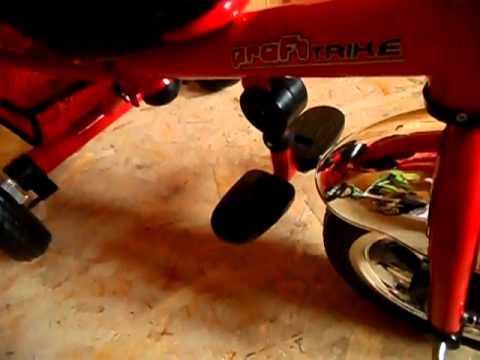 Profi Trike (Профи Трайк) Детский Трехколесный велосипед с колясочной ручкой