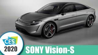 SONY představilo elektromobil Vision-S, ale máme i lepší překvapení | CES 2020