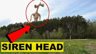 WE WENT BACK TO THE SIREN HEAD FOREST! | GIANT SIREN HEAD CAUGHT ON CAMERA IN THE SIREN HEAD FOREST!