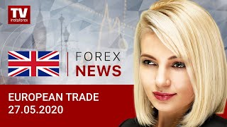 InstaForex tv news: 27.05.2020: EUR and GBP manage to rise against USD. Outlook for EUR/USD and GBP/USD