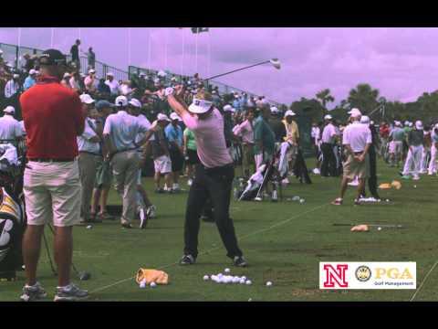 Brandt Snedeker Golf Swing in Slow Motion (Face On)