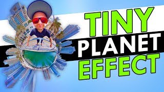How To Make A TINY PLANET (For Beginners!)