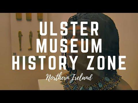 Ulster Museum; National Museum about Mummy and Irish History