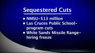 Sequestration cuts would impact Las Cruces
