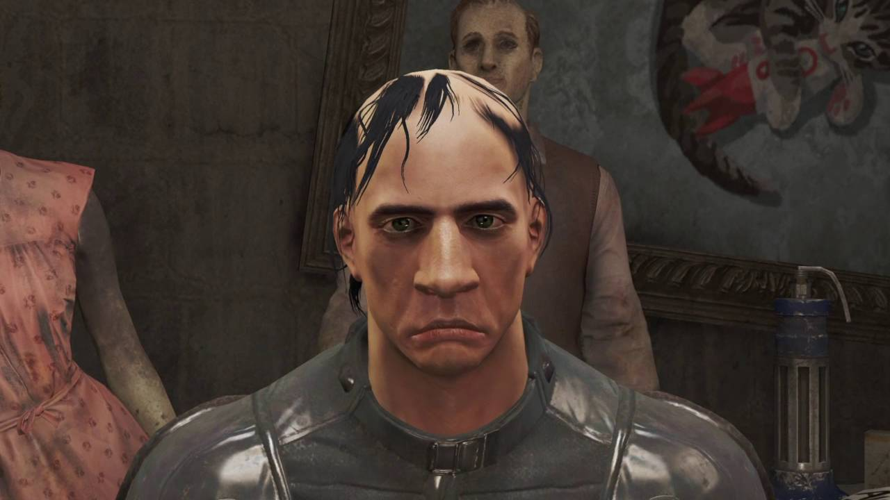 Fallout 4 character preset glitch 1 06