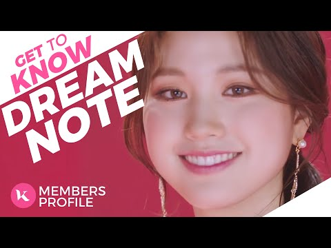 DreamNote (드림노트) Members Profile (Birth Names, Birth Dates, Positions etc..) [Get To Know K-Pop]