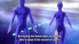 Gargantia episode 8 scene: Earth