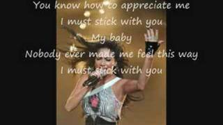 PCD Stick With You - Lyrics With Pictures
