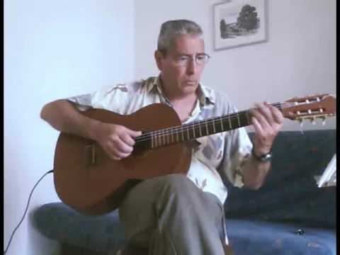 Perfidia - for solo acoustic guitar - YouTube