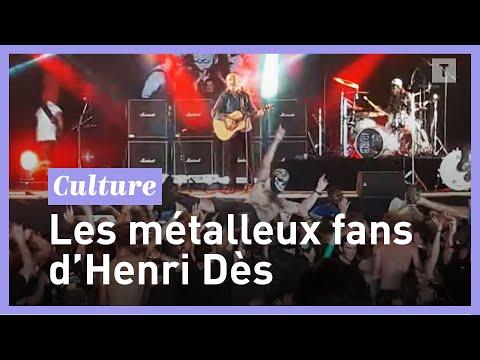 «Ils ont fait le plus gros pogo du week-end», quand Henri Dès cartonne devant 12.000 fans de métal (vidéos)
