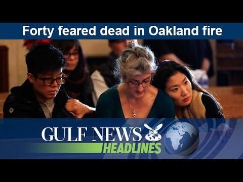 Forty feared dead in Oakland fire – GN Headlines