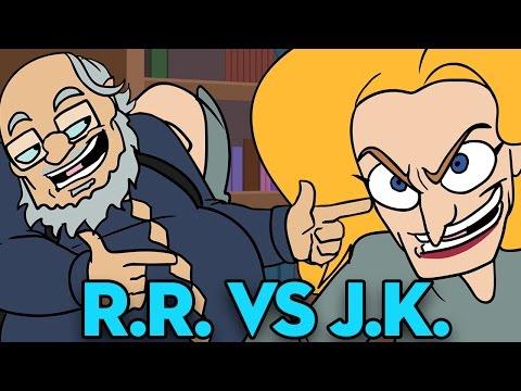 George RR Martin Vs JK Rowling