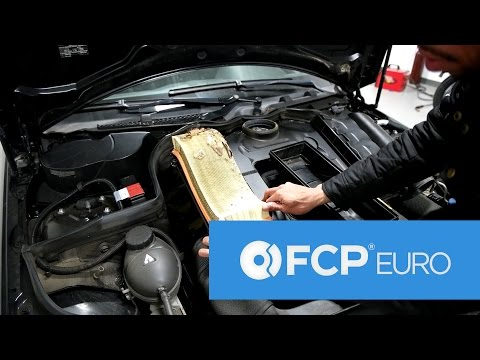 Mercedes Engine Air Filter Replacement – Simple DIY (C300, E350, S400, & More!)