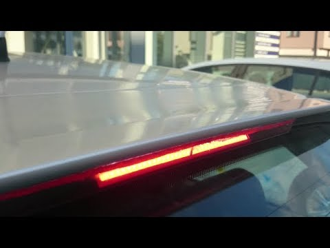 How to repair and fix led third brake light  YouTube