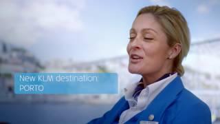 KLM Destination Porto