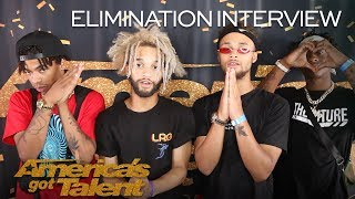 Elimination Interview: The Future Kingz Send Love To Their Fans - America's Got Talent 2018