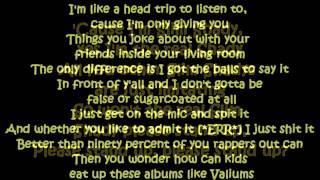 Eminem  - The Real Slim Shady (Lyrics )HD & HQ
