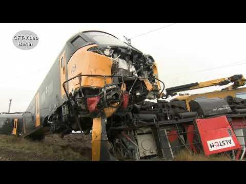 Bahnunfall in Dreileben/Börde/Railway accident in Dreileben / Börde