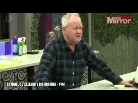 Ken Morley's wife pretends to throttle him as he arrives home after getting CBB boot   3am & Mirror