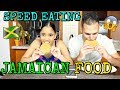 SPEED EATING (JAMAICAN FOOD)