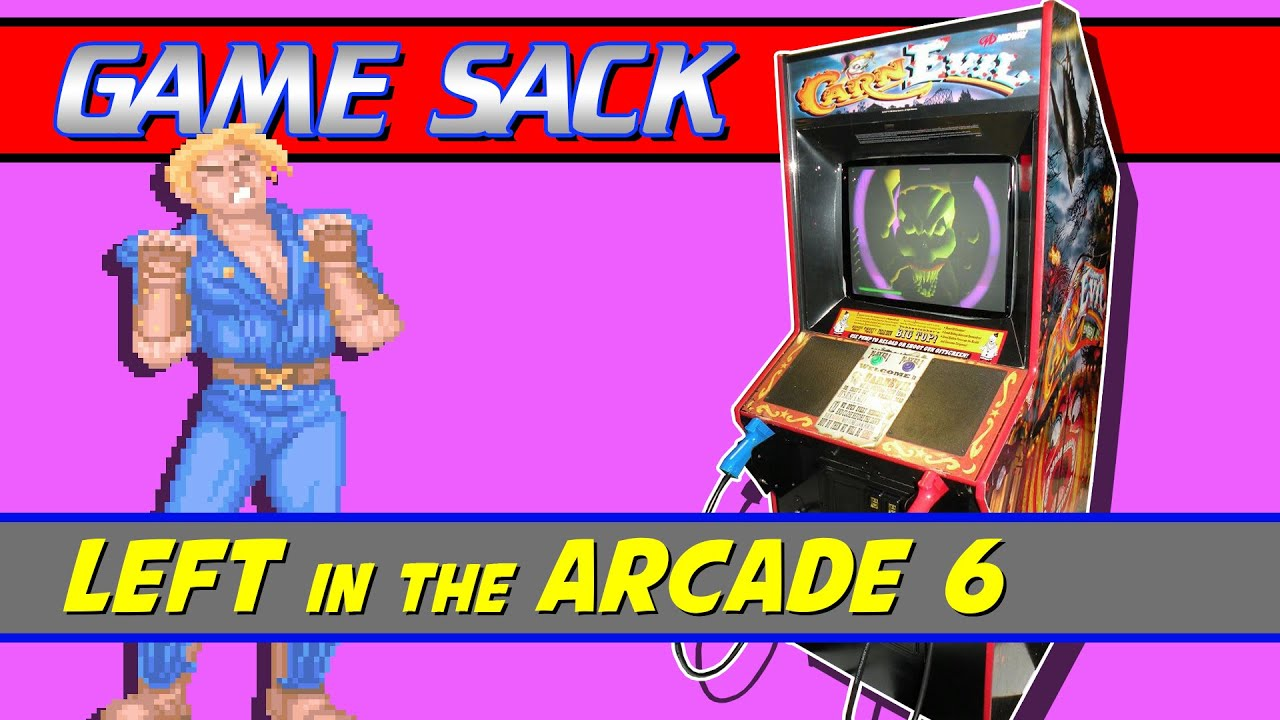 Left in the Arcade 6 – Game Sack