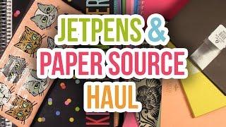 Jet Pens & Paper Source Haul - Notebooks, Envelopes, Pens (plus EC Life Planner)