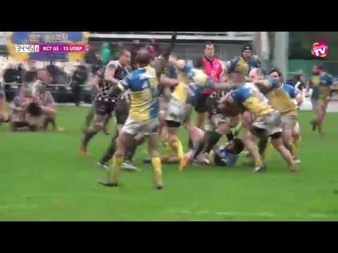 Rugby Fédérale 1 RCT vs USRP