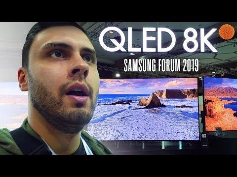 Что показала Samsung на Forum 2019? QLED TV 8K, Galaxy A30 и A50 | COMFY