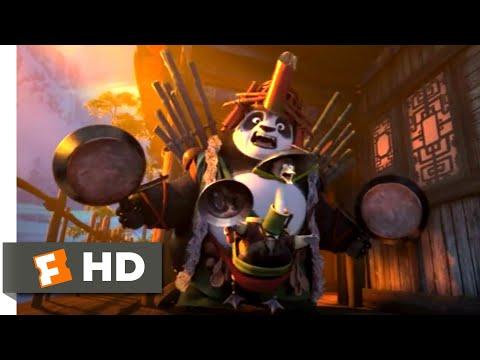 Kung Fu Panda 3 (2016) - Double Dad Defense Scene (7/10)   Movieclips