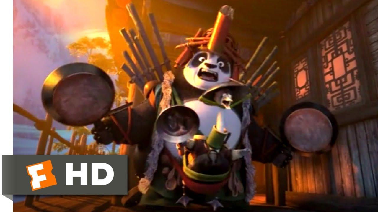 Download Kung Fu Panda 3 (2016) - Double Dad Defense Scene (7/10)   Movieclips