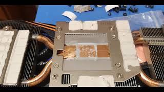 Naprawa Gigabyte  GTX 1070 Ti po koparce Video