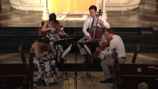 "Attacca Quartet plays Haydn Op. 33 no. 3 ""The Bird"" -- Third Movement"