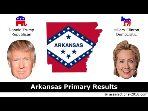 Arkansas Primary Result 2016 : US Election 2016