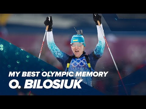 Olympic Memories: Olena Bilosiuk nee Pidhrushna