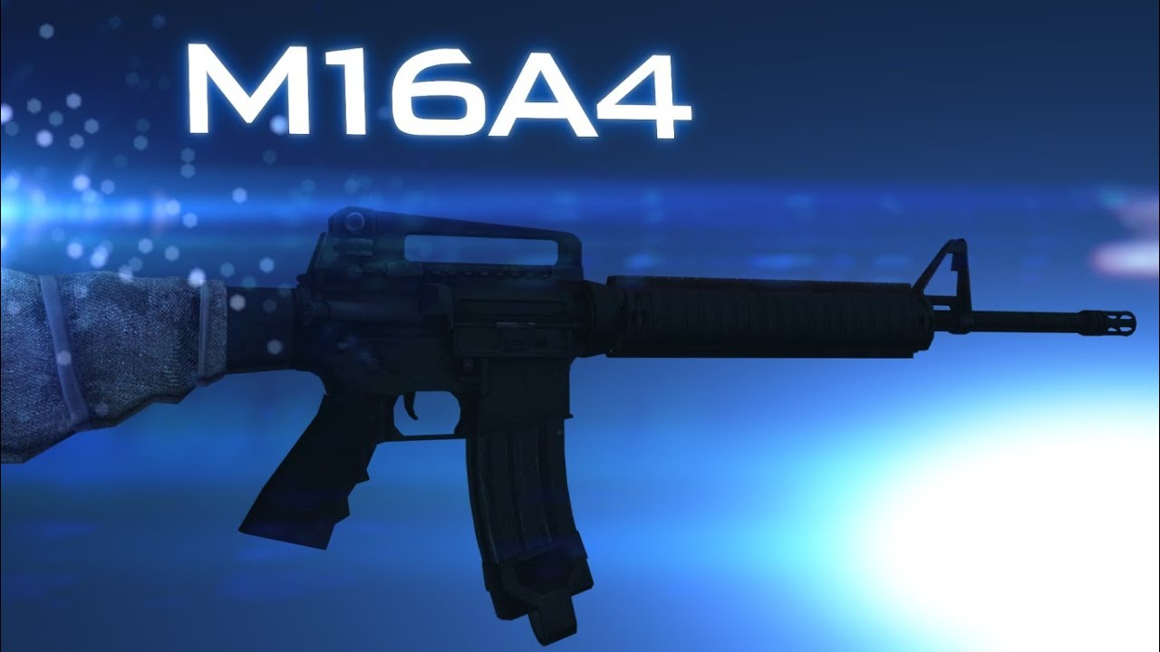 M16A4 | Battlefield 3 Weapontage - YouTube M16a4 Bf3