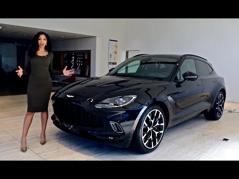 2021 Aston Martin DBX First Look With Britt Waters