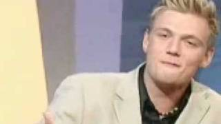 Nick Carter on the Johny Vaughan show - part 2