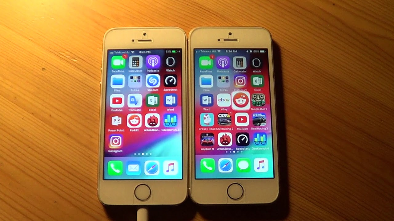 5 Year Old Vs 3 Year Old Iphone Speed Test 5s Vs Se