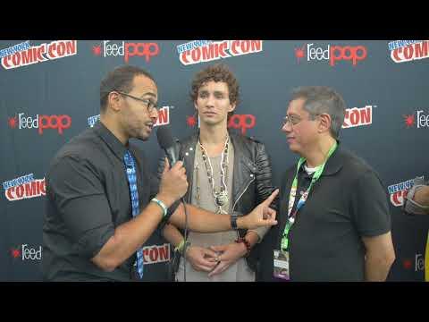 Bad Samaritan  Dean Devlin and Robert Sheehan    NY Comic Con 2017