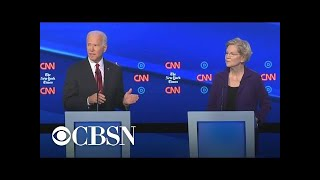 2020 Daily Trail Markers: Biden criticizes Warren's foreign policy comments from fourth debate